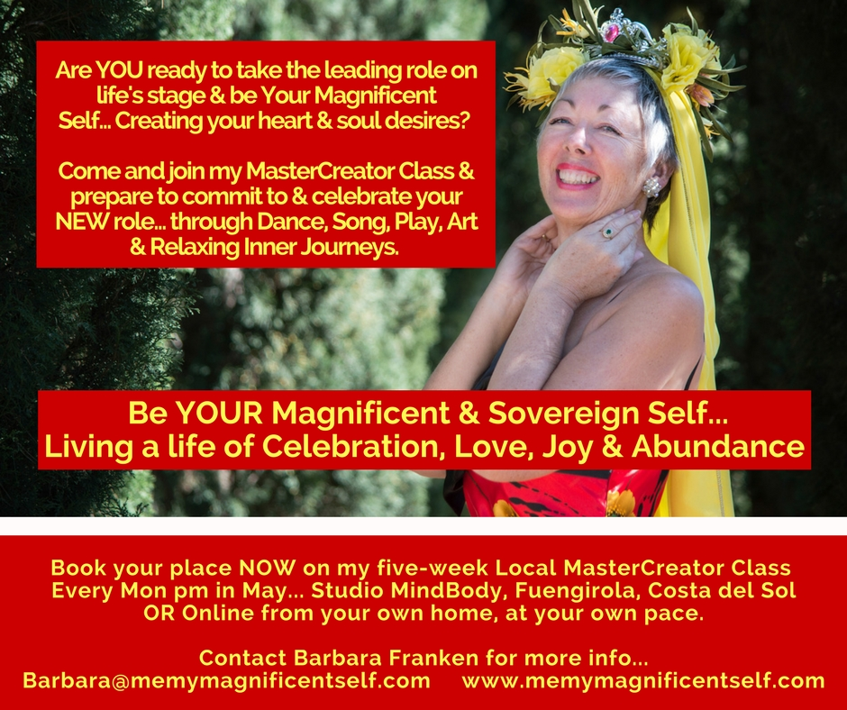 MasterCreator Class to prepare you for your new role on new earth.